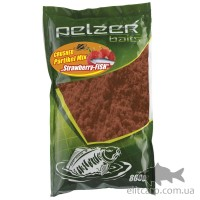 Кормова суміш Pelzer Crushed Partikel Mix (Strawberry Fish) 800гр
